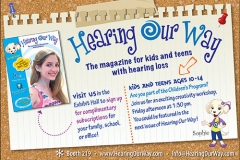 Hearing Our Way program ad