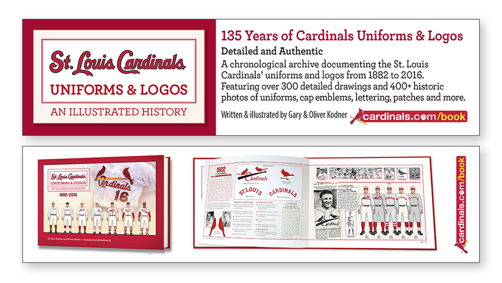 picture relating to St Louis Cardinals Printable Schedule named St. Louis Cardinals Uniforms Trademarks bookmark -